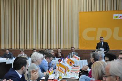 CDU-Kreisparteitag vom 10. November 2018 in Pfrondorf  - CDU-Kreisparteitag vom 10. November 2018 in Pfrondorf